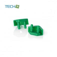 Noctua NA-SAVP5 - Chromax Anti-vibration pads - 16 pack - Green (NA-SAVP5 green)