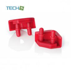 Noctua NA-SAVP5 - Chromax Anti-vibration pads - 16 pack - Red (NA-SAVP5 red)