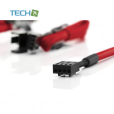Noctua NA-SEC1 chromax red 4x30cm extension cables