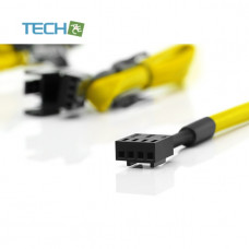 Noctua NA-SEC1 chromax yellow 4x30cm extension cables