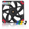 Noctua NF-A12x15 PWM chromax.black.swap - 120mm fan with swappable pads