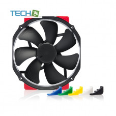Noctua NF-A15 HS-PWM chromax.black.swap - 140mm fan with swappable pads