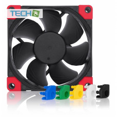 Noctua NF-A8 PWM chromax.black.swap - 80mm fan with swappable anti-vibration pads