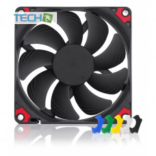 Noctua NF-A9x14 HS-PWM Chromax.Black.Swap slim 92mm Fan with swappable anti-vibration pads