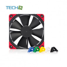 Noctua NF-F12 PWM chromax.black.swap - 120mm fan with swappable pads