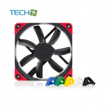 Noctua NF-S12A PWM chromax.black.swap - 120mm fan with swappable pads