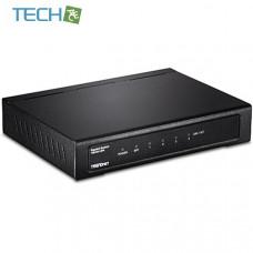 TRENDnet TEG-S51SFP - 4-Port Gigabit Switch with SFP Slot