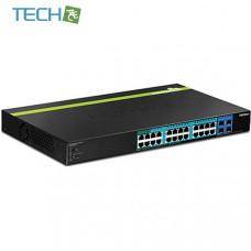Trendnet TPE-2840WS - 28-Port Gigabit Web Smart PoE+ Switch