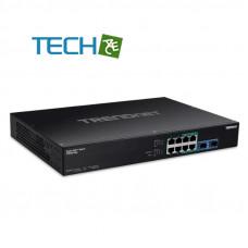 TRENDnet TPE-BG102g  (Version v1.0R) 10-Port Gigabit PoE  Switch