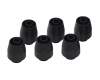Alphacool HF compression fitting TPV - straight - black - 6pcs kit