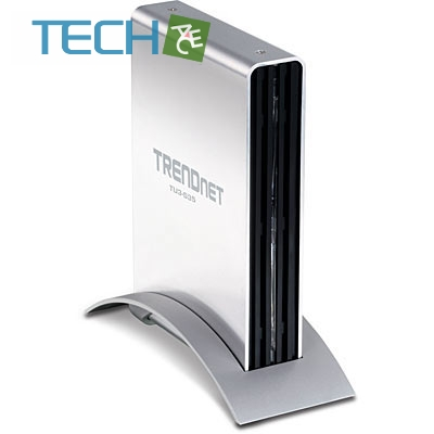"TRENDnet TU3-S35 - 3.5"" USB 3.0 External Enclosure"