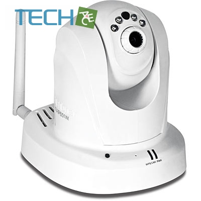 Trendnet TV-IP651 WI - Wireless Day / Night PTZ Internet Camera